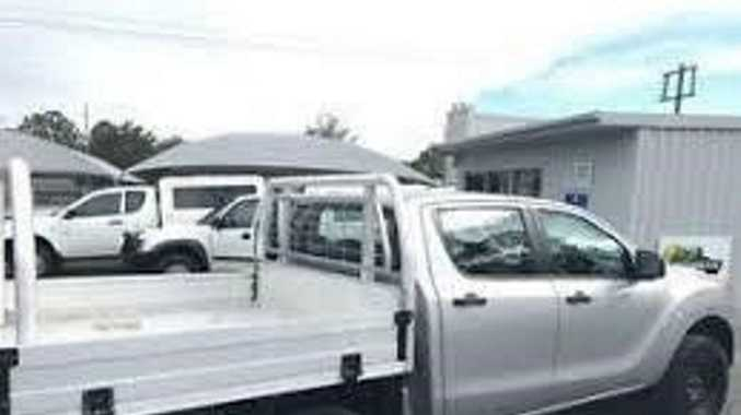 A silver Mazda BT-50 was stolen from a private residence at Athol.
