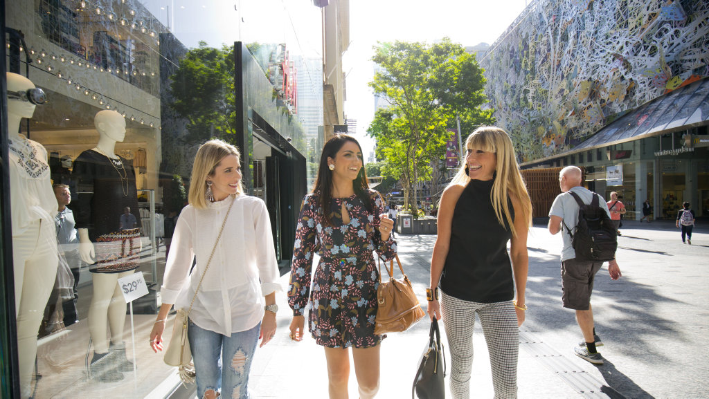 Brisbane is the place to be for anyone looking to shop until they drop!