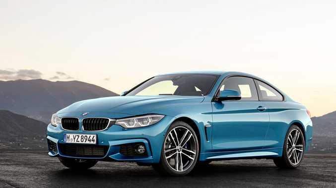 The BMW 430i.