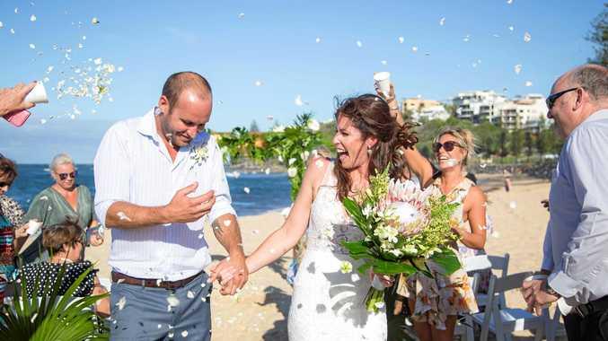 Kristie Philp has wed Mark Paitry.