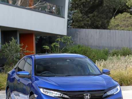 The range-topping Honda Civic VTi-LX.