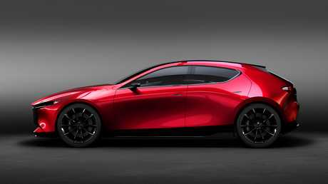 Is this the new Mazda3? The Mazda KAI concept.