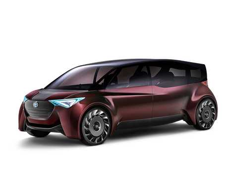 Toyota's Fine-Comfort Ride and Concept-i at the 2017 Tokyo motor show.
