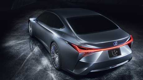 Revealed at Tokyo was the Lexus LS+.