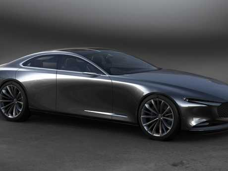 The Mazda Vision Coupe.