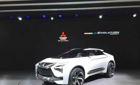 Mitsubishi's e-Evolution.