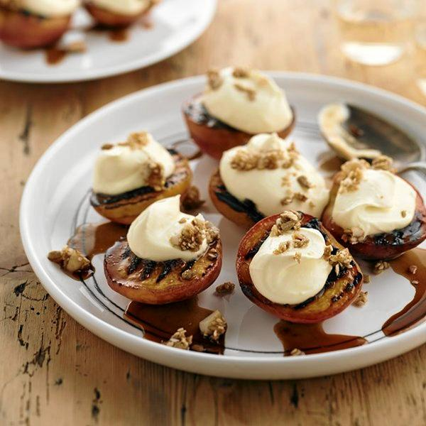 While they're great to eat as-is, peaches are also fabulous in mains and desserts. Give chargrilled peaches with lime cream cheese a go.