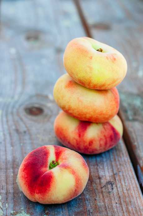 The first peaches of the season are now available at local farmers' markets.