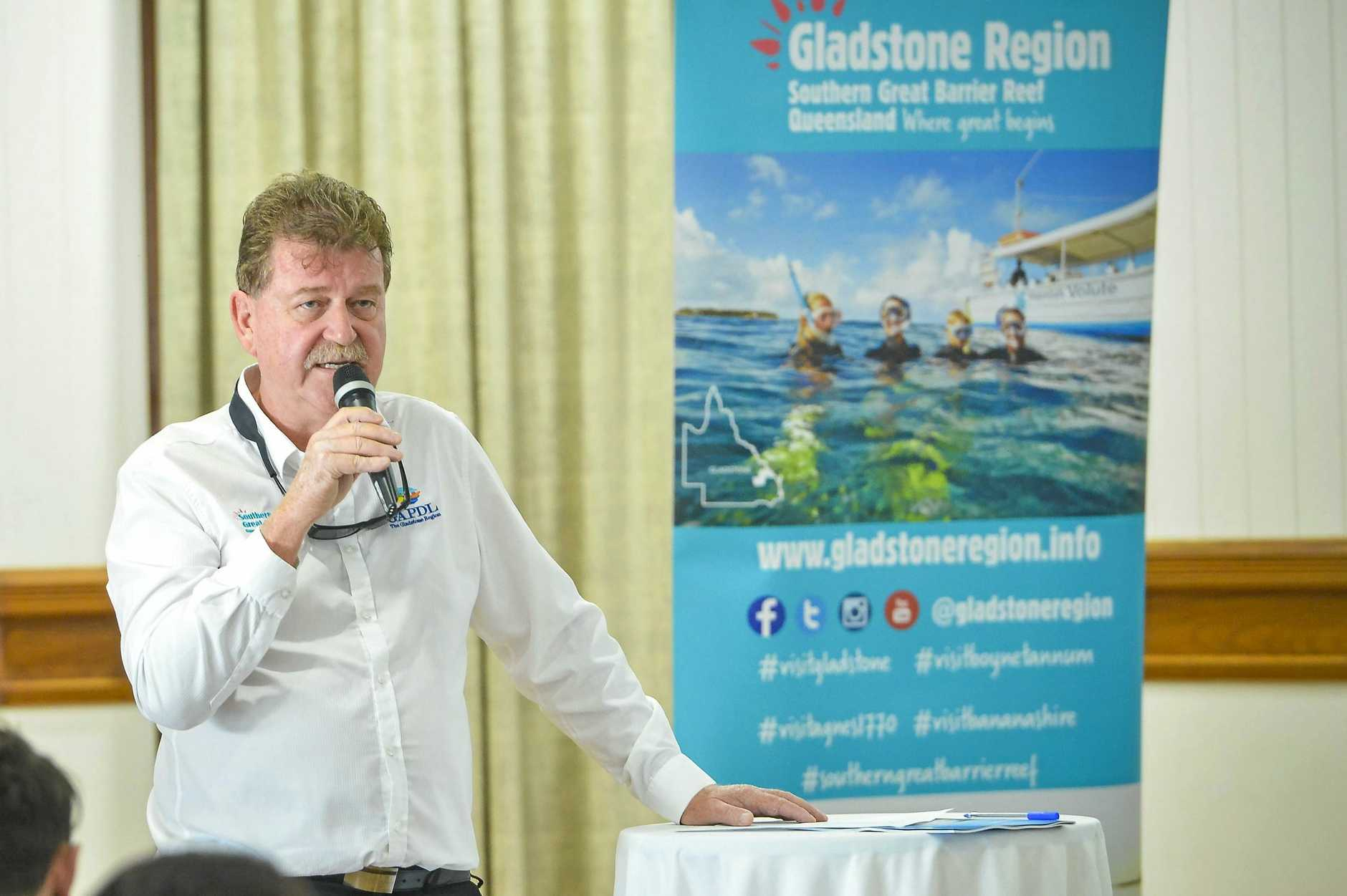 Darryl Branthwaite, CEO of GAPDL, speaks at the AGM on 26 October, 2017.
