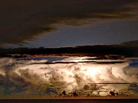STORMCHASER: Antonio Parancin has spent the past 11 years forecasting, photographing and chasing severe weather patterns around the Northern Rivers