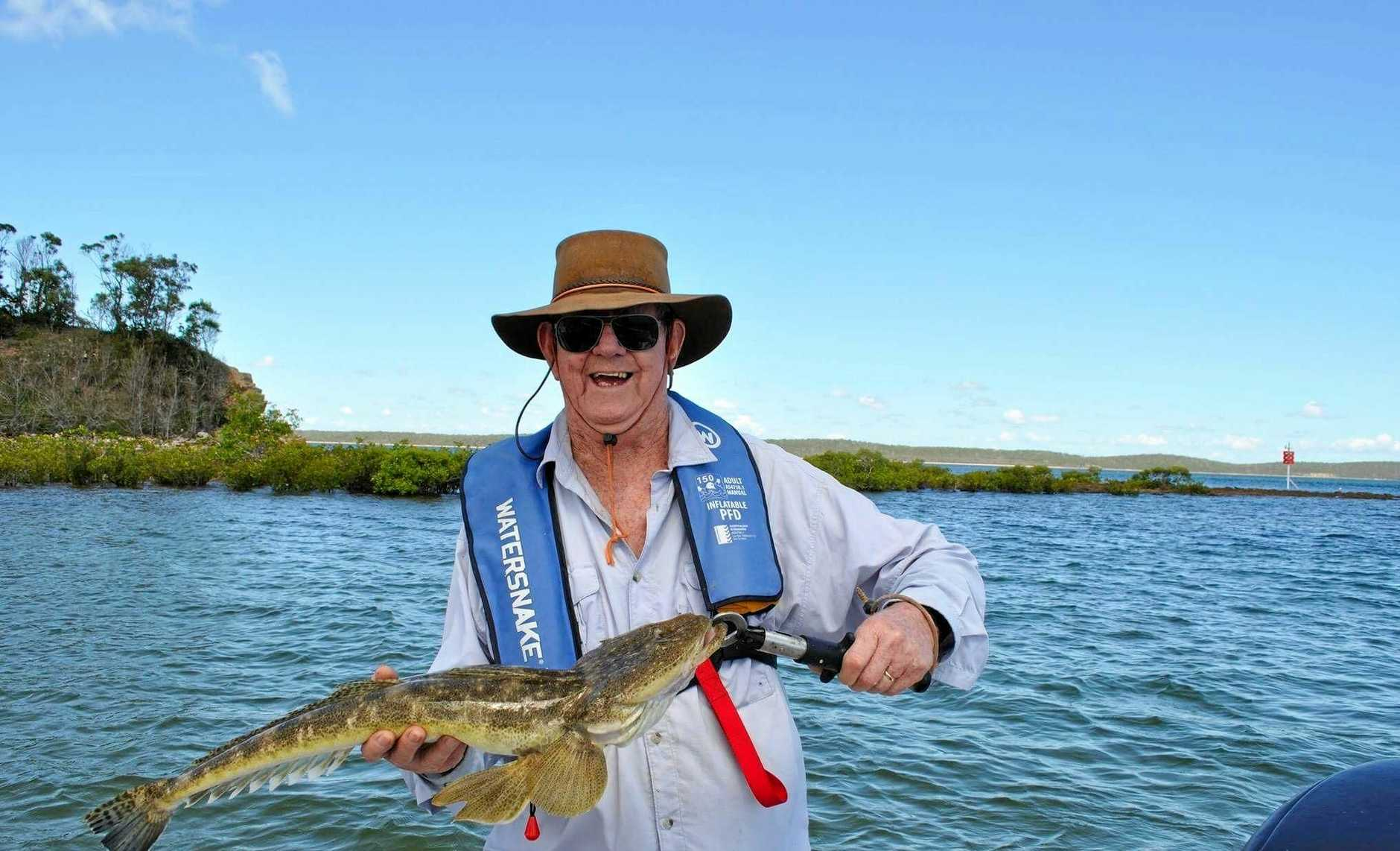 3. We received the next photo via email. Bryce Nelmes caught and released this 73cm flathead out of Hervey Bay on Tuesday.