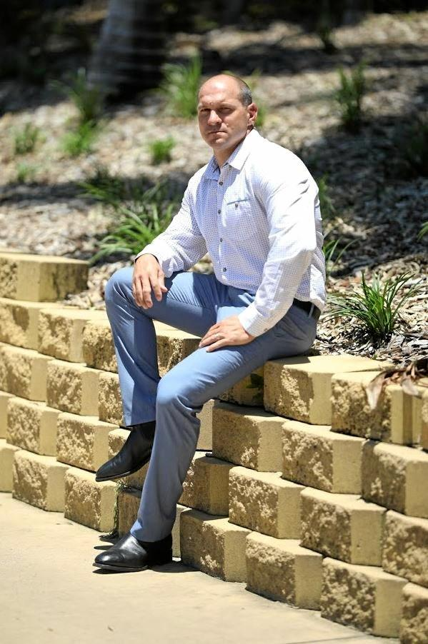 STEPPING UP: Wade Rothery has been announced as One Nation's Rockhampton candidate with an election looming.