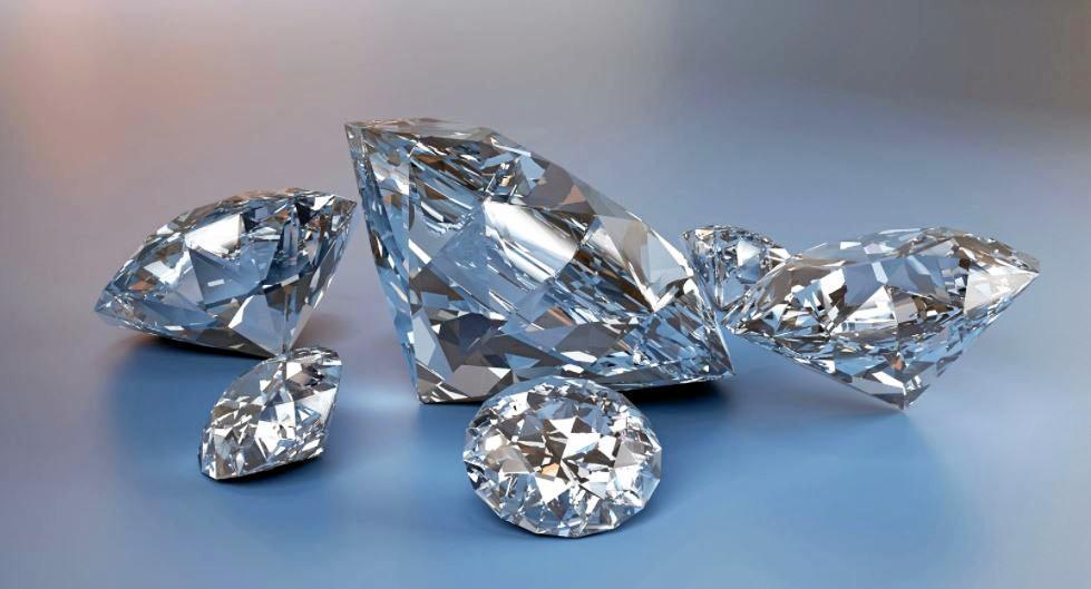 SUSPECTED STOLEN: Diamonds were among the suspected stolen gemstones.
