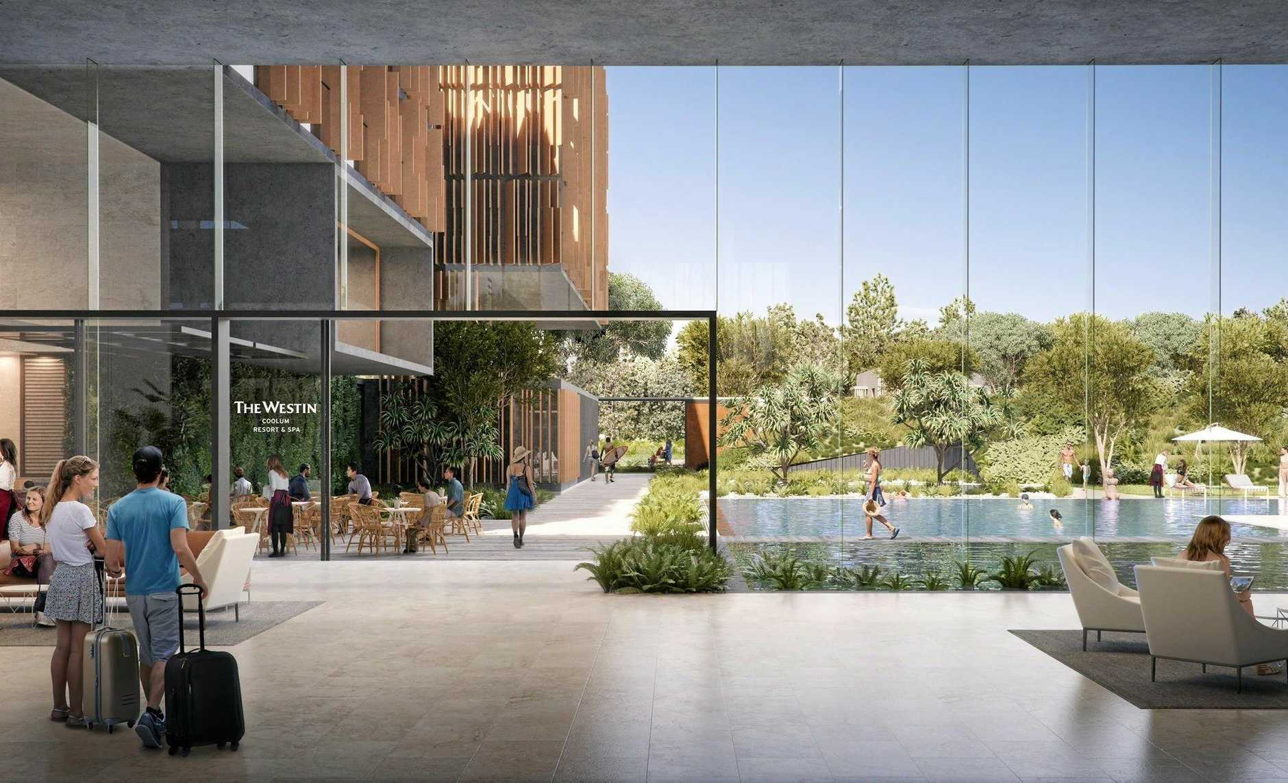 Sekisui House plans to partner with Westin for a five-star resort at Yaroomba.