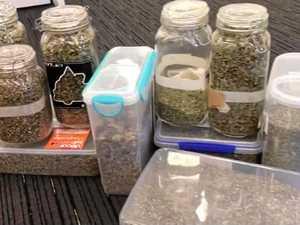 Tip-off sees cops find pot stash and herb tea