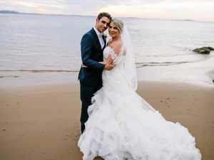 Why Gladstone couple chose beach paradise for wedding
