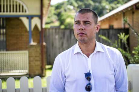 Michael Martin spoke to media in a bid to find those responsible for his father's murder.