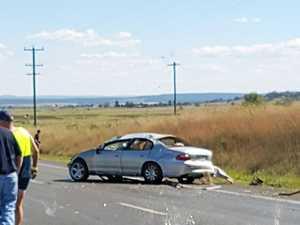 Man arrested after New England Highway crash