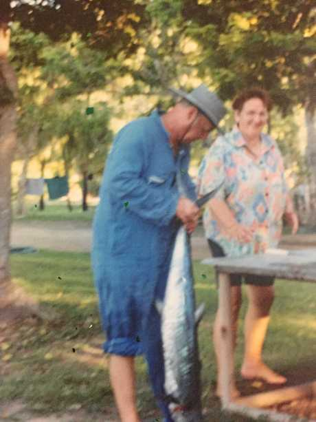 Fishing was a passion of Williams.