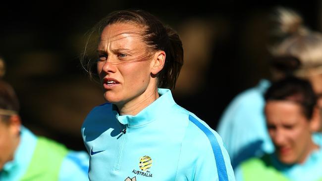 Emily Van Egmond has returned to Australian to play for Newcastle Jets.
