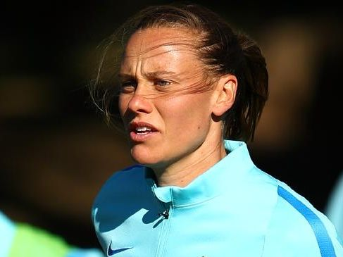 Emily Van Egmond has returned to Australian to play for Newcastle Jets.