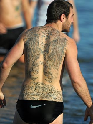 There is plenty going on with Travis Cloke's back.