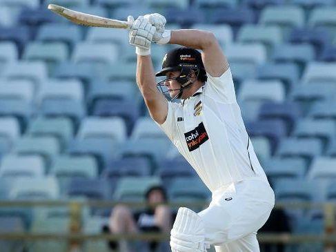 Hilton Cartwright in action for Western Australia against Tasmania on Thursday.