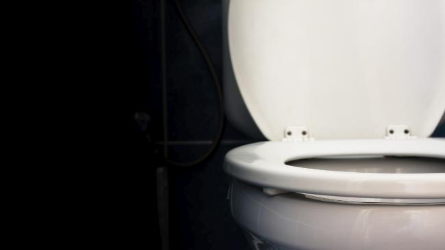 The man allegedly placed the camera on the ground of the toilets