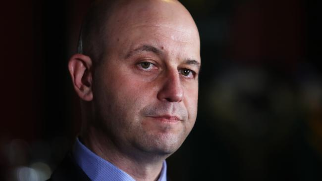 NRL CEO Todd Greenberg released a statement on the police inquiry. Picture: Brett Costello