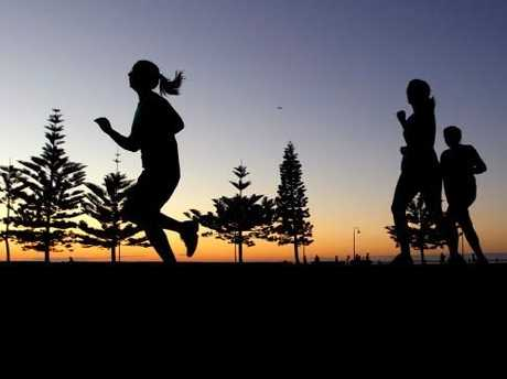 Incorporate push ups, walking lunges, prone holds, side planks, step ups, star jumps, and short bursts of running.