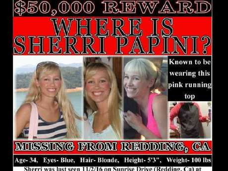 One of a number of missing posters for Sherri Papini. Picture: Please Find Sherri Papini/Facebook