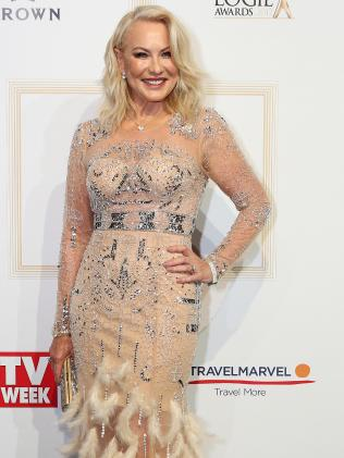 TV legend Kerri-Anne Kennerley. Picture: Julie Kiriacoudis