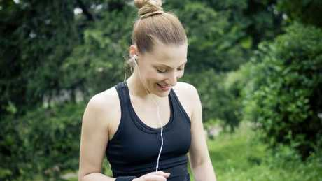 Music prevents distraction while exercising