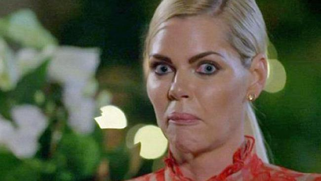 Sophie Monk and Bachelorette winner Stu Laundy received a very awkward text after the finale.