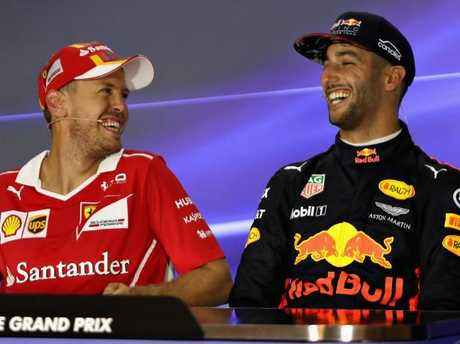 Hamilton, Vettel on Ricciardo addition