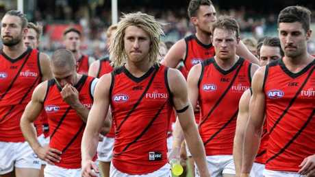 Essendon will try to spoil Freo's party in Round 2. Picture: AAP