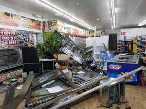 Ram raid causes $100,000 in damage to Fraser Coast business