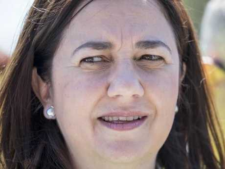 Premier Annastacia Palaszczuk hopes to win a fresh mandate with majority government status. Picture: Glenn Hunt/AAP