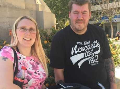 Ms Pearce moved suddenly while they were having sex, causing her fiance to tear a sensitive piece of tissue on his penis. Picture: Twitter