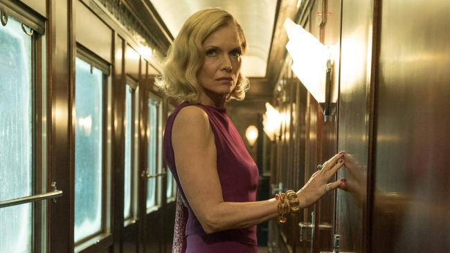 Michelle Pfeiffer as Mrs Hubbard.