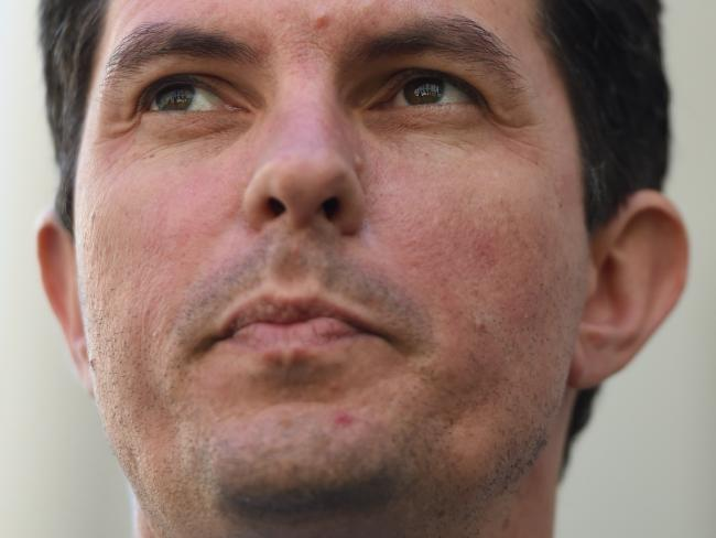 The scandal began after John Cameron ousted Greens MP Scott Ludlam (pictured) as a New Zealand citizen in July this year. Picture: AAP/Lukas Coch