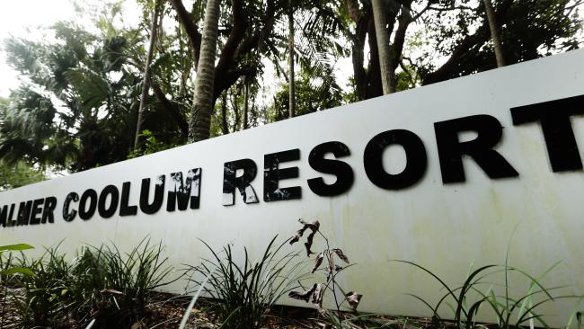 Now overgrown, the Palmer Coolum Resort at Coolum was state of the art when it opened as a Hyatt Regency in 1988. Picture: Lachie Millard