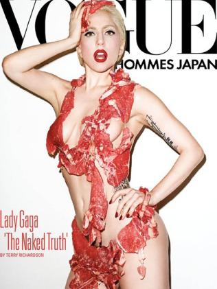 ...And Lady Gaga for 'Vogue Hommes Japan.