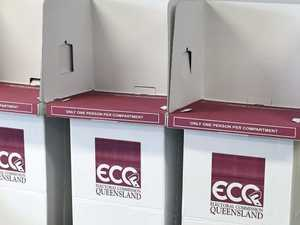 Ballot draw for Hervey Bay electorate