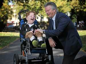 Steve Waugh's quest to help kids