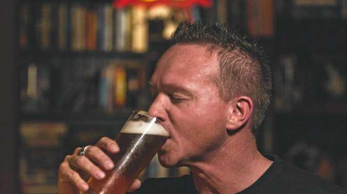 GOOD NEWS BREWING: Adam Tomlinson of Stalwart Brewing Company.