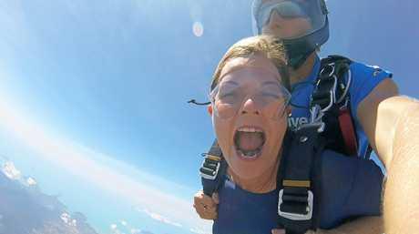 New KAP candidate for Whitsunday Jennifer Whitney jumps from 15,000 ft.