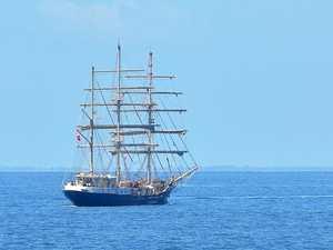 Tenacious tall ship a modern wonder