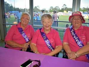 Gympie steps out for cancer cause