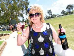 PHOTOS: NZ race goer cheers to Torbanlea Picnic Races